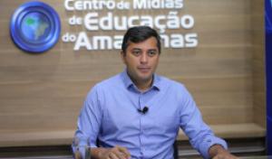 Governador Wilson Lima anuncia aulas em TV aberta